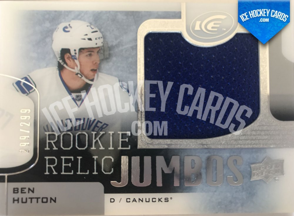 Upper Deck - ICE 15-16 - Ben Hutton Rookie Relic Jumbos RC