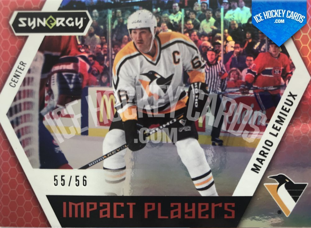 Upper Deck - Synergy 19-20 - Mario Lemieux Impact Players 55 of 56