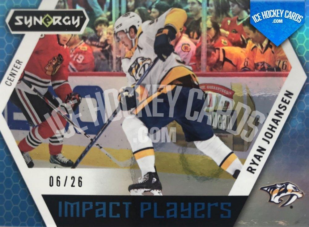 Upper Deck - Synergy 19-20 - Ryan Johansen Impact Players 6 of 26