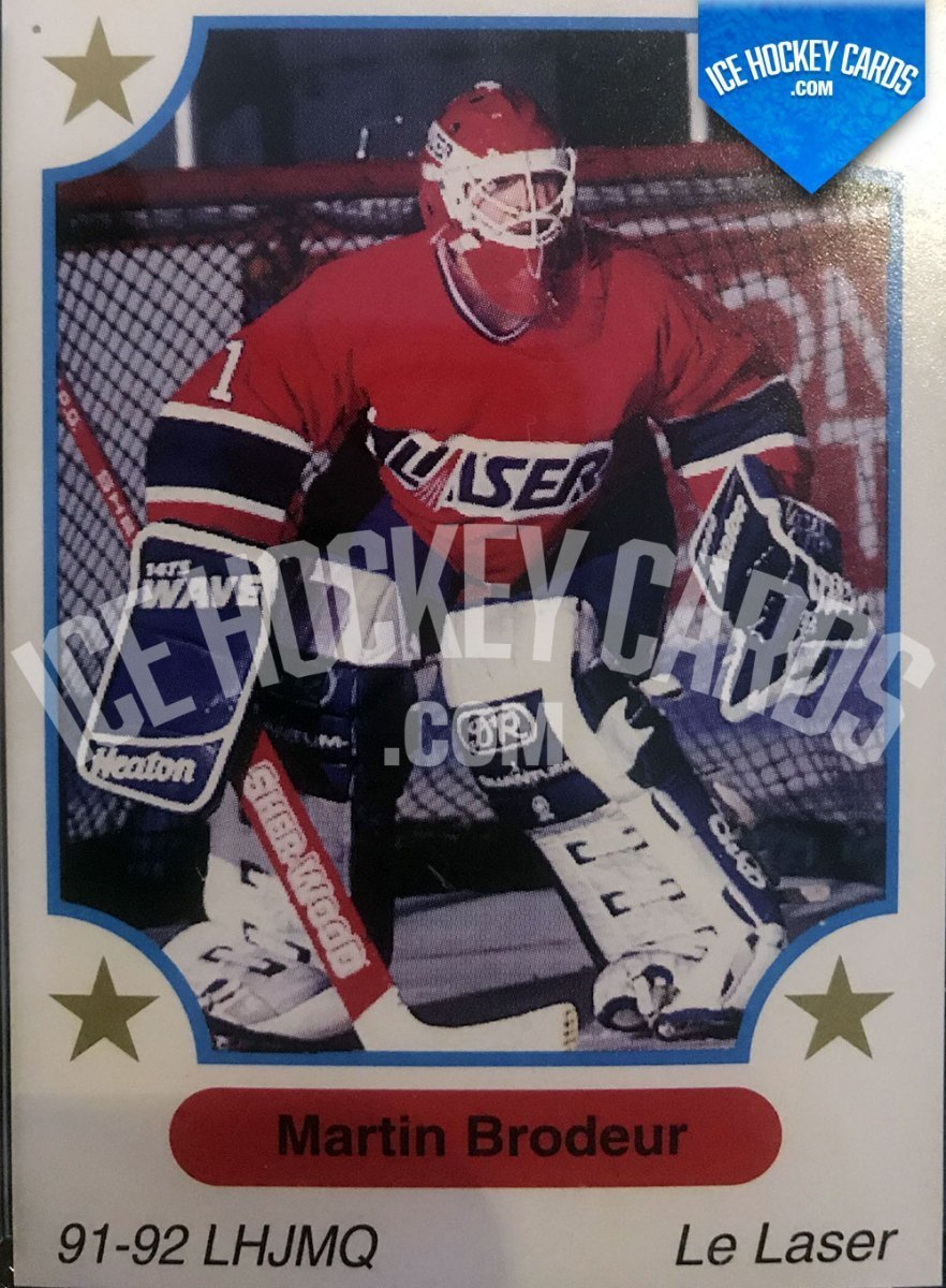 7th Inning Sketch - 1991 - Martin Brodeur Rookie Card #1