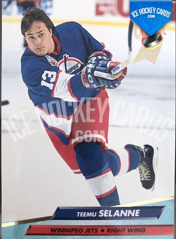 Fleer Ultra 92-93 - Teemu Selanne Rookie Base Card RC