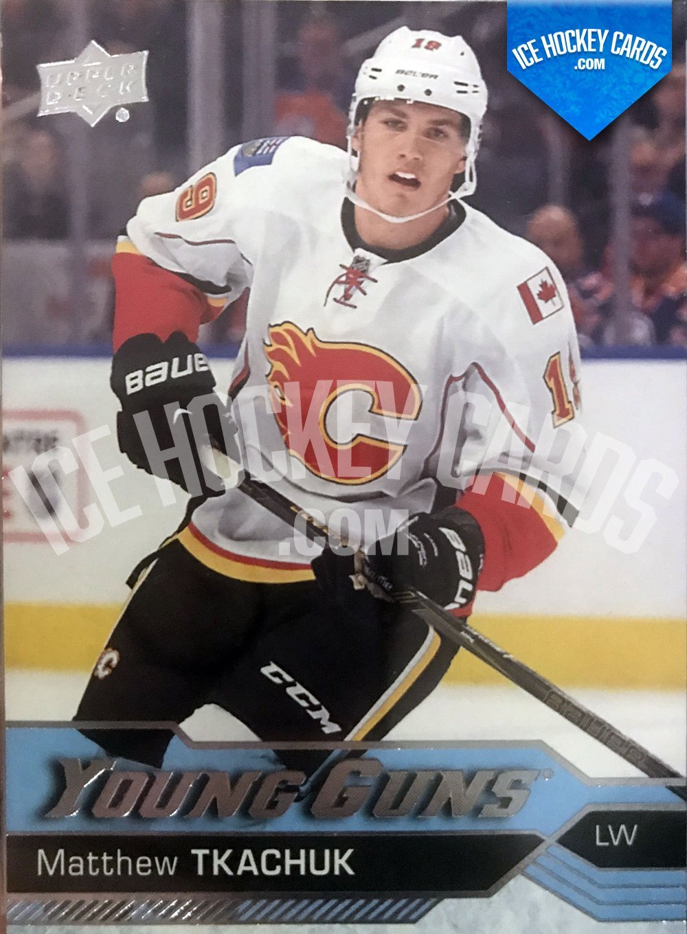 Upper Deck -16-17 - Matthew Tkachuk Young Guns Rookie Card