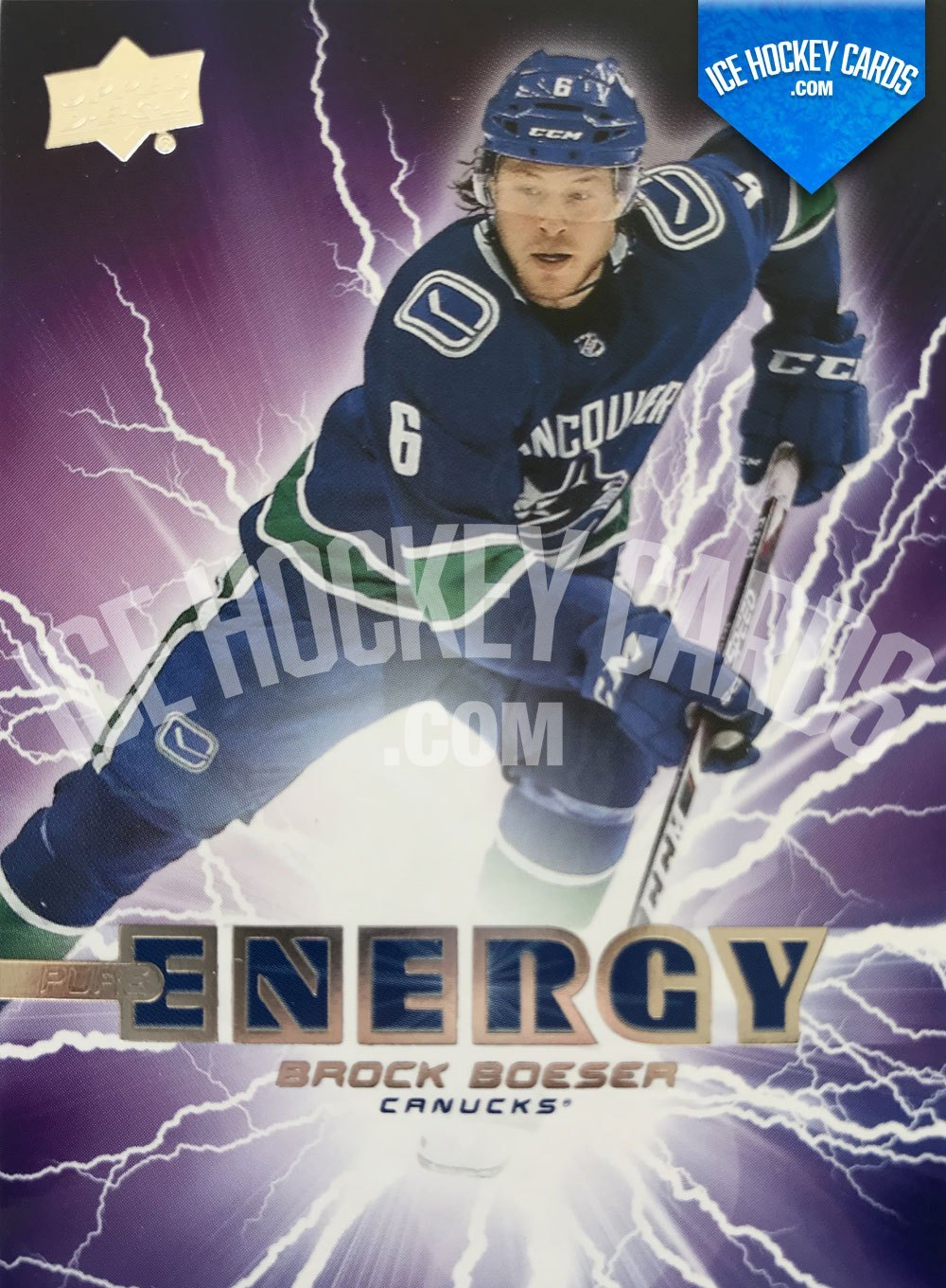 Upper Deck - 19-20 - Brock Boeser Pure Energy