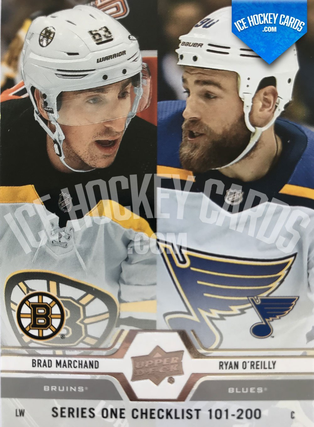 Upper Deck - 19-20 - Series 1 Checklist 101-200 - Brad Marchand & Ryan O'Reilly