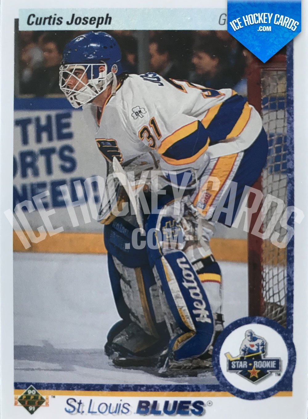 Upper Deck - 90-91 - Curtis Joseph Star Rookie Card