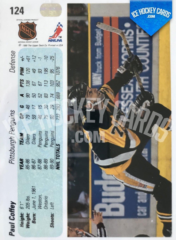 Upper Deck - 90-91 - Paul Coffey Base Card back