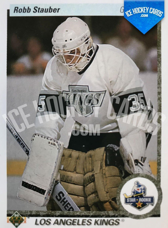 Upper Deck - 90-91 - Robb Stauber Star Rookie Card