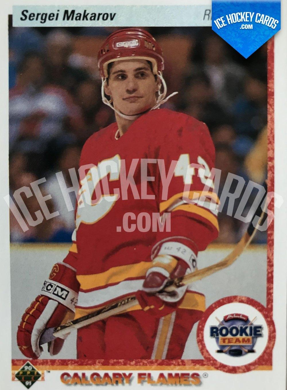 Upper Deck - 90-91 - Sergei Makarov All Rookie Team Card