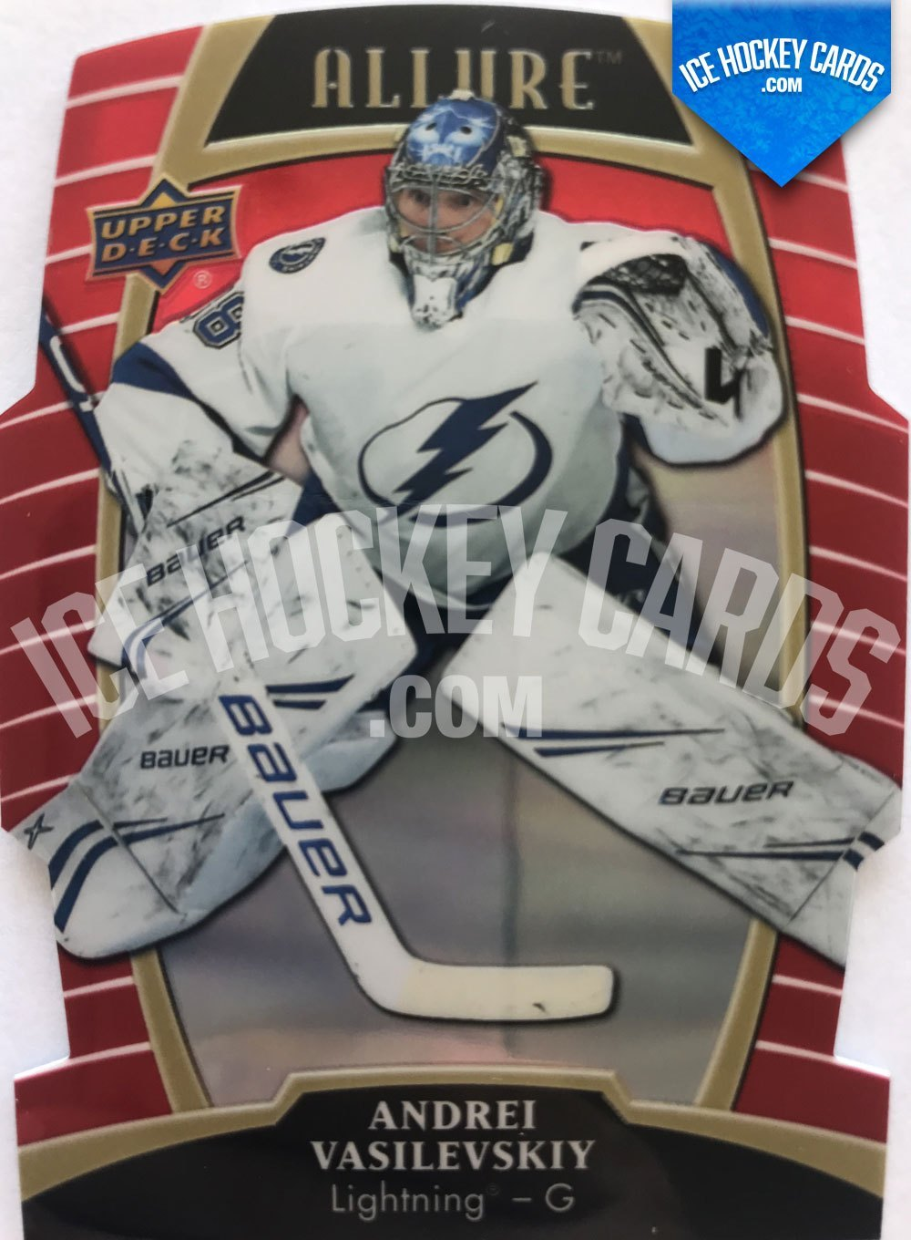 Upper Deck - Allure 19-20 - Andrei Vasilevskiy Red Base Card