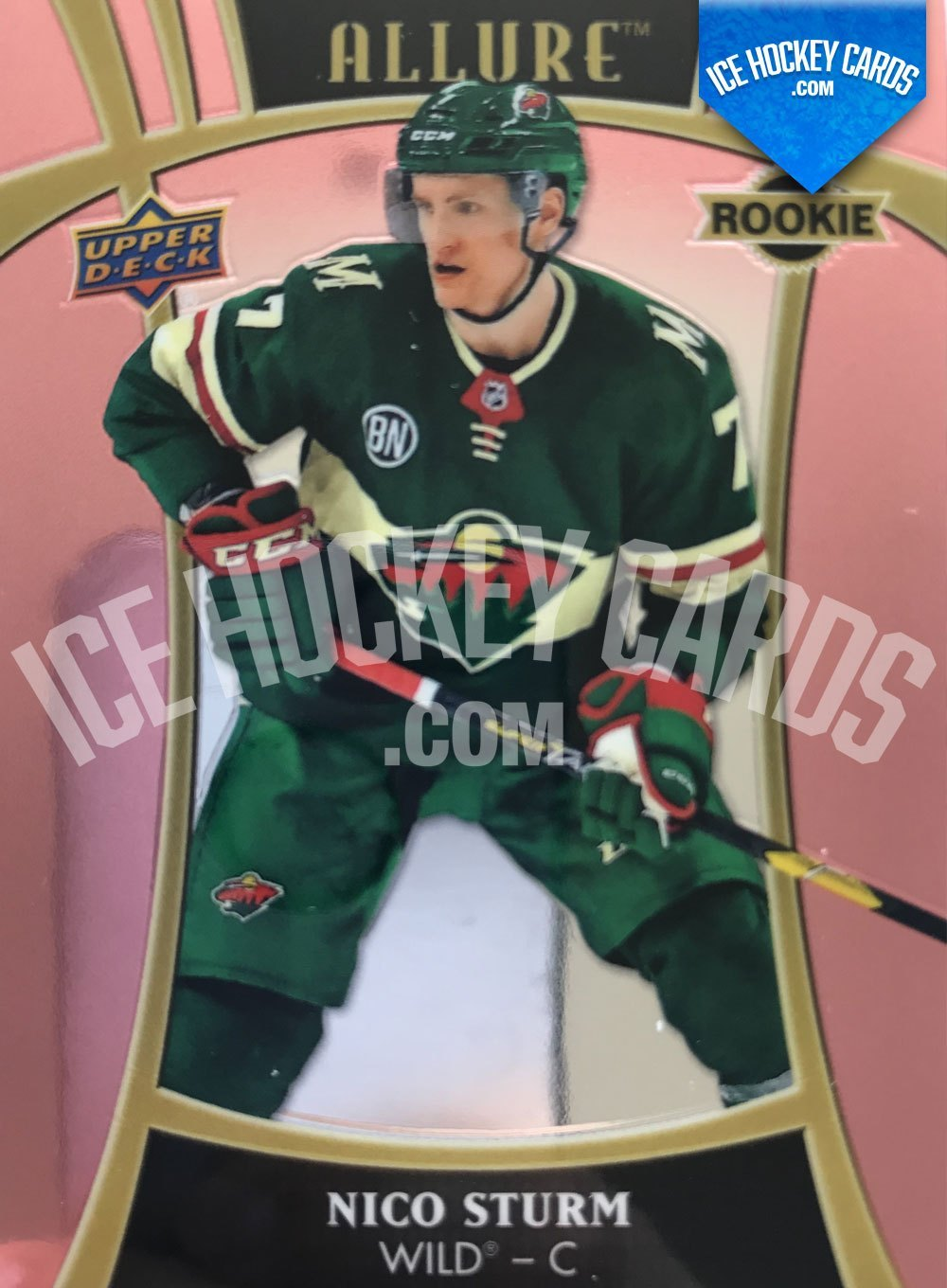 Upper Deck - Allure 19-20 - Nico Sturm Rookie Card