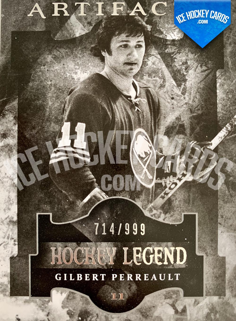 Upper Deck - Artifacts 2011-12 - Gilbert Perreault Hockey Legend