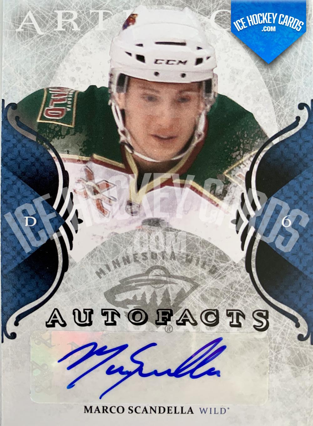 Upper Deck - Artifacts 2011-12 - Marco Scandella Autofacts Autograph