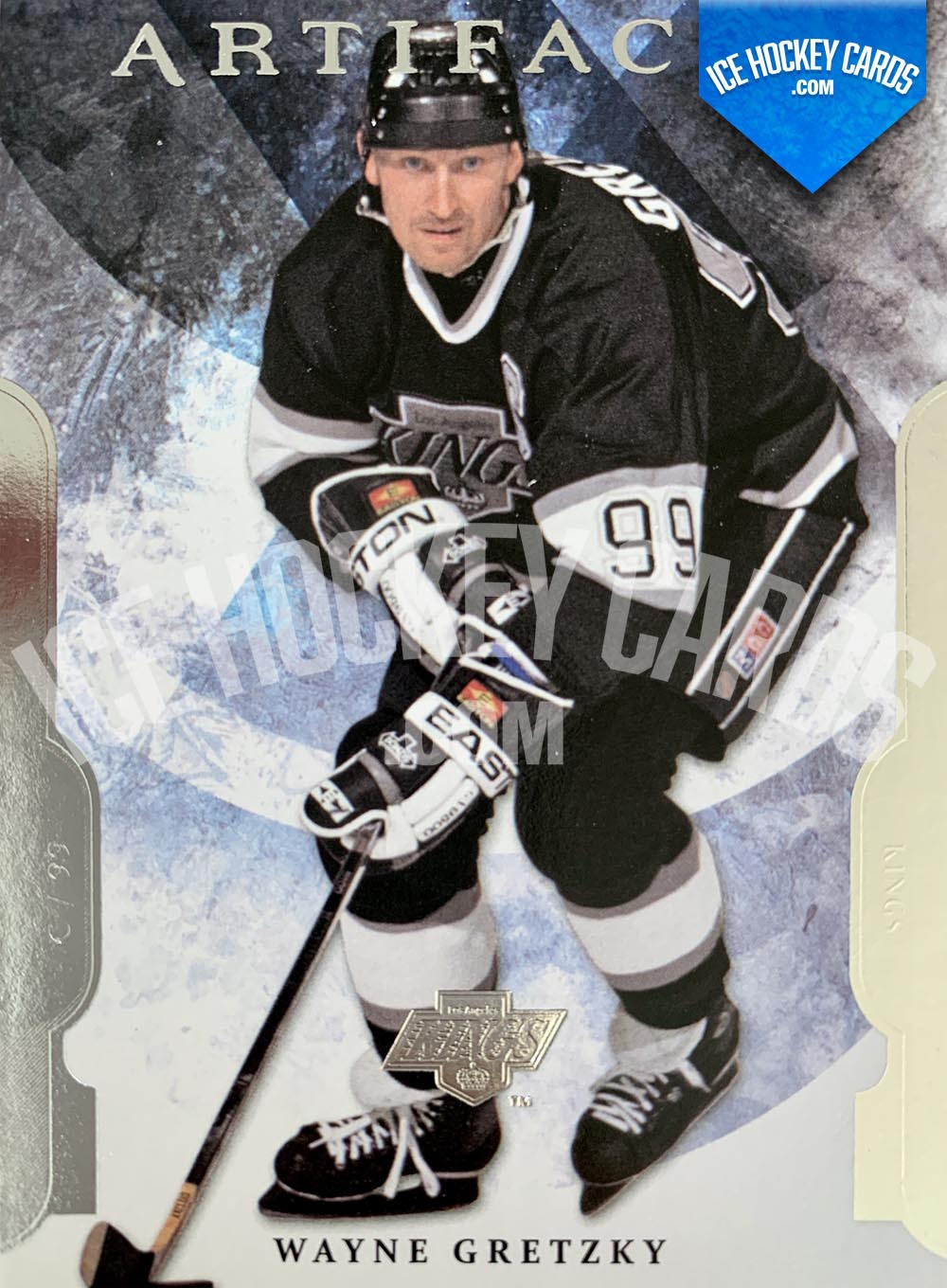 Upper Deck - Artifacts 2011-12 - Wayne Gretzky Base Card