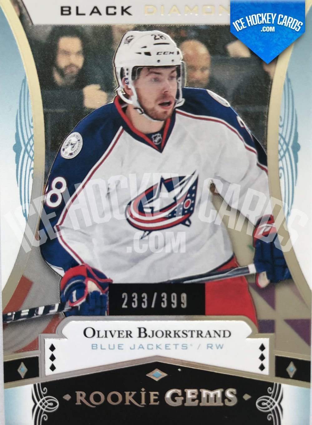 Upper Deck - Black Diamond 16-17 - Oliver Bjorkstrand Rookie Gems