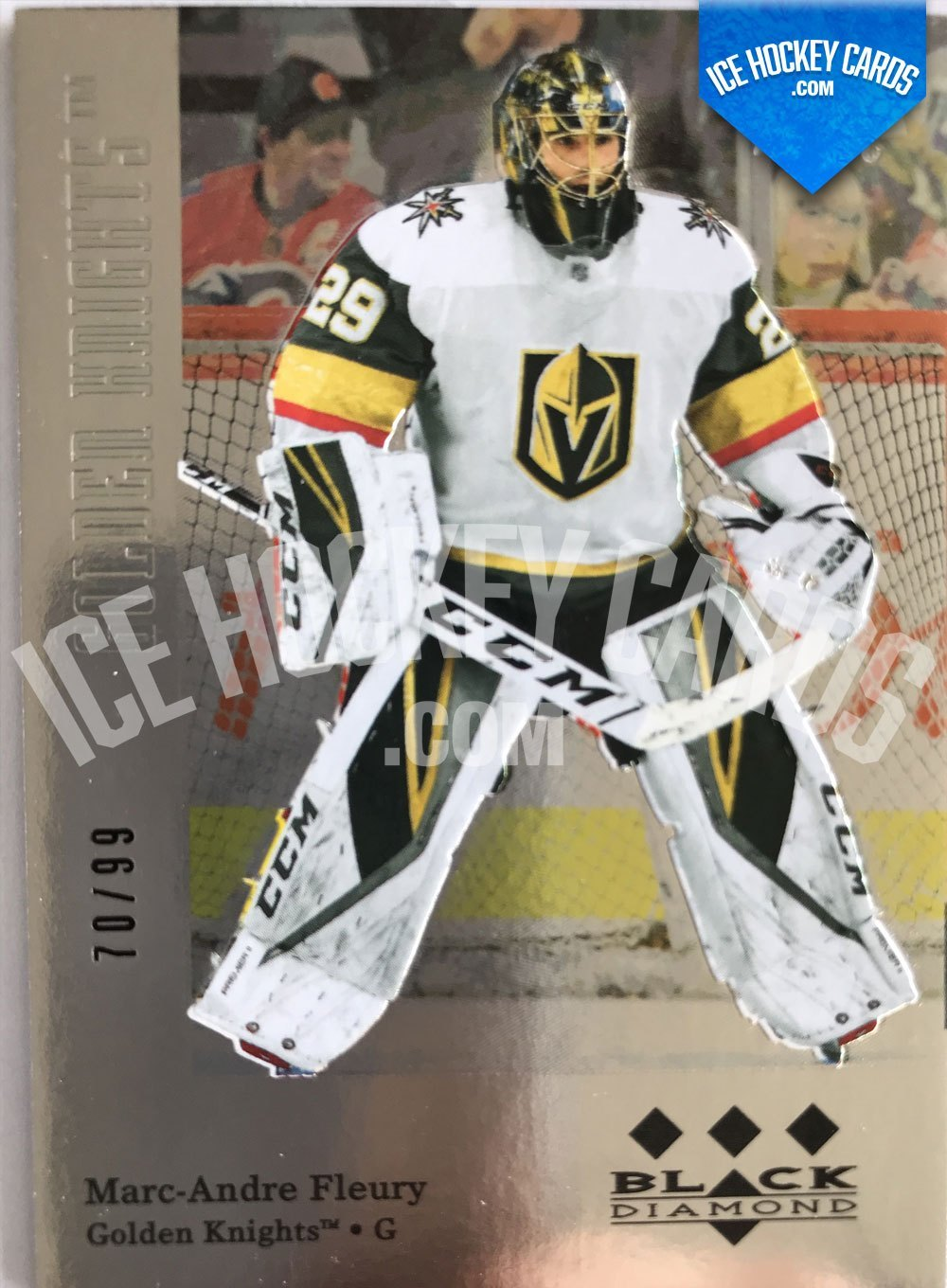 Upper Deck - Black Diamond 19-20 - Marc-Andre Fleury Retro Tribute Card