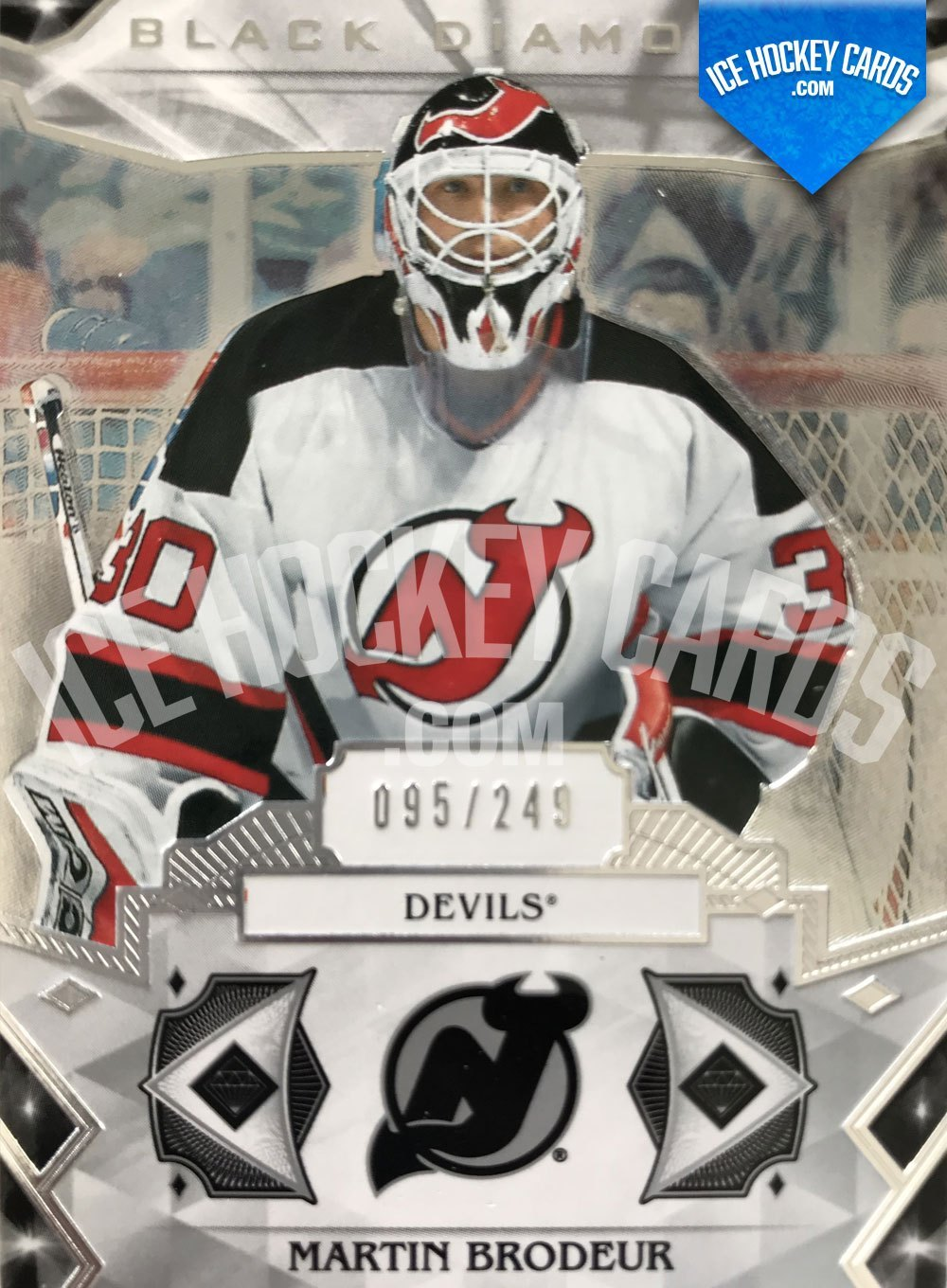 Upper Deck - Black Diamond 19-20 - Martin Brodeur Base Card