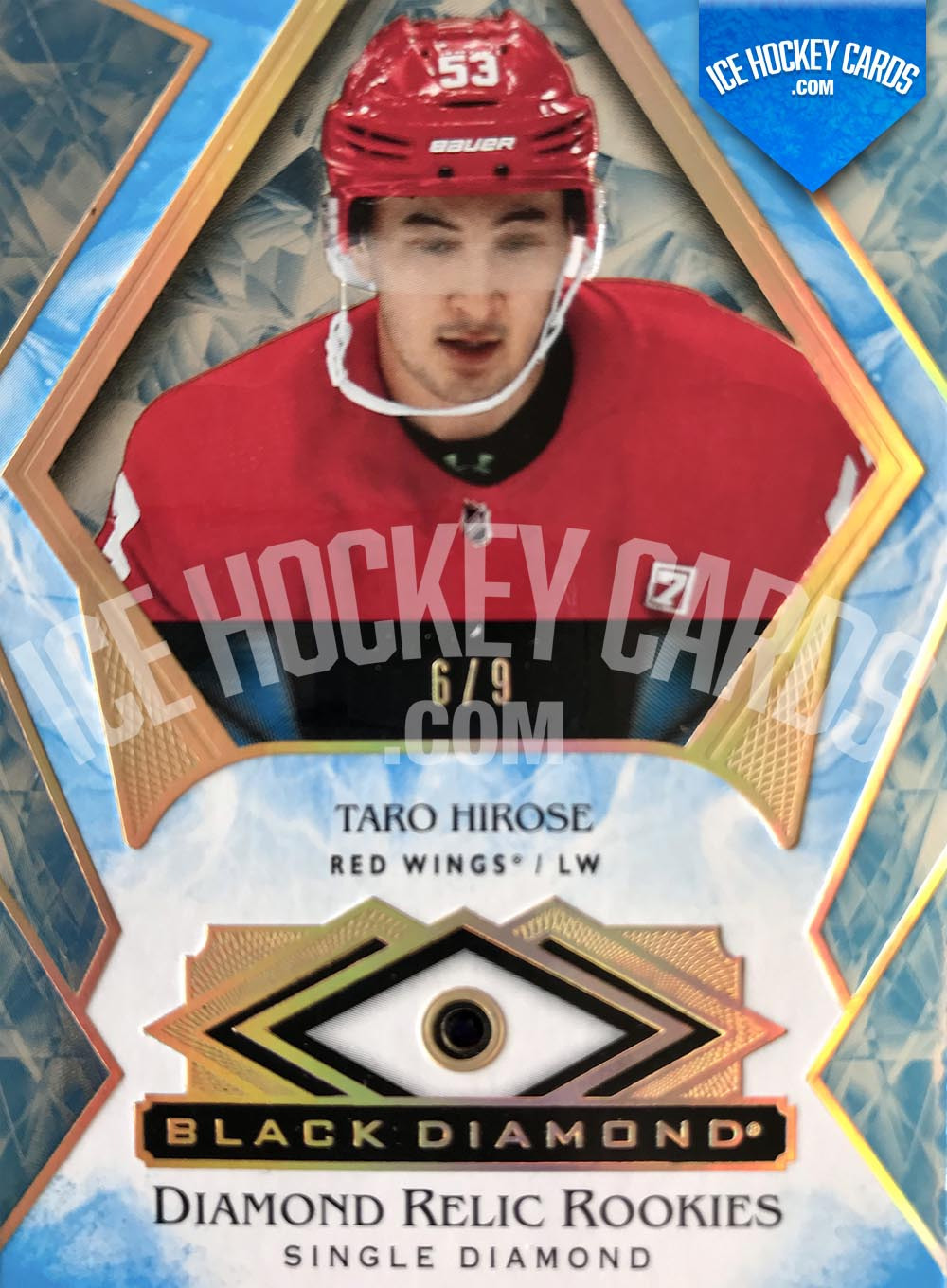 Upper Deck - Black Diamond 2019-20 - Taro Hirose Single Diamond Relic Rookies CDD Exclusive # to 9 SUPER RARE