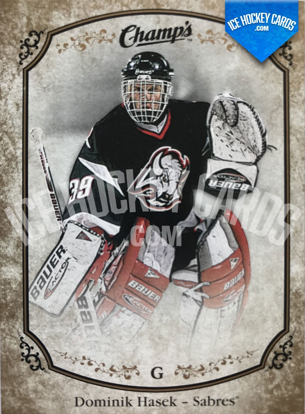Upper Deck - Champs 15-16 - Dominik Hasek Base Card
