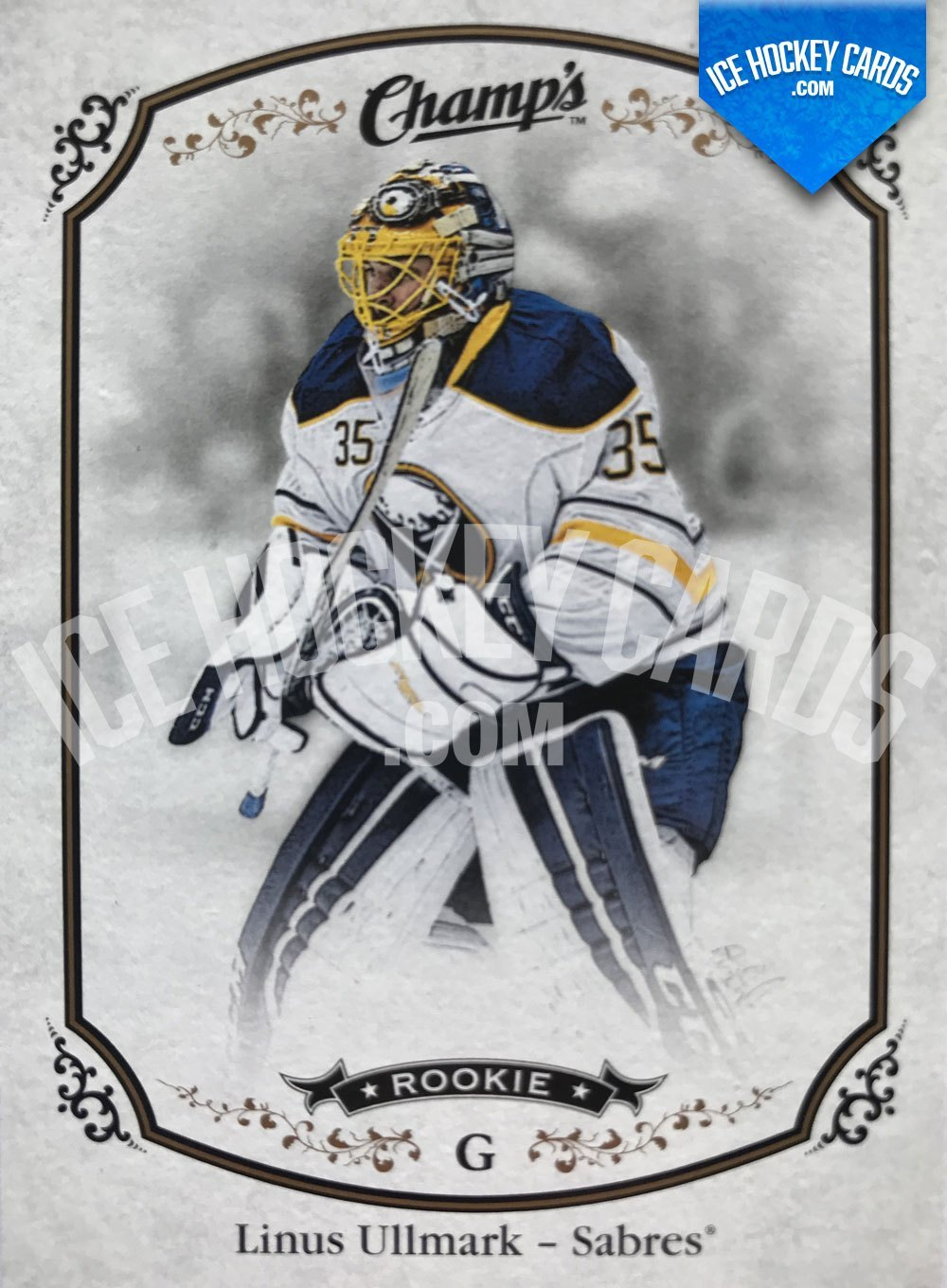 Upper Deck - Champs 15-16 - Linus Ullmark Rookie Card