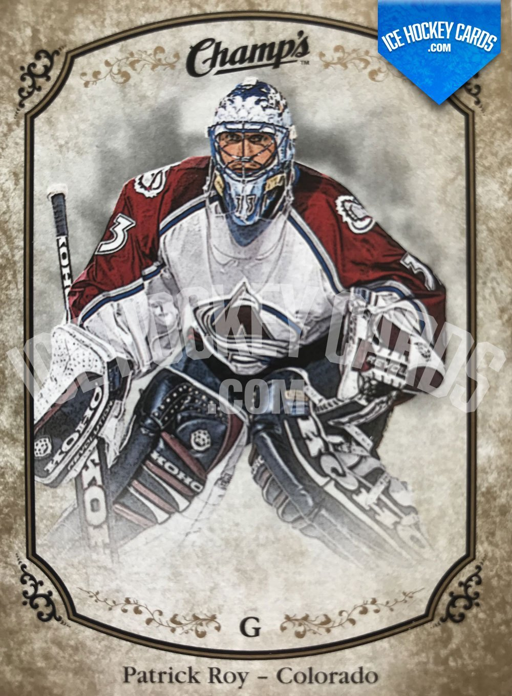 Upper Deck - Champs 15-16 - Patrick Roy Base Card