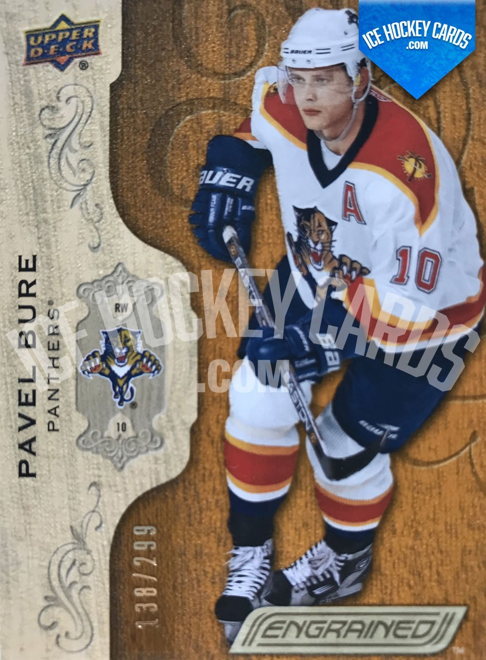 "Upper Deck - Engrained 18-19 - Pavel Bure ""Russian Rocket"" Base Card"