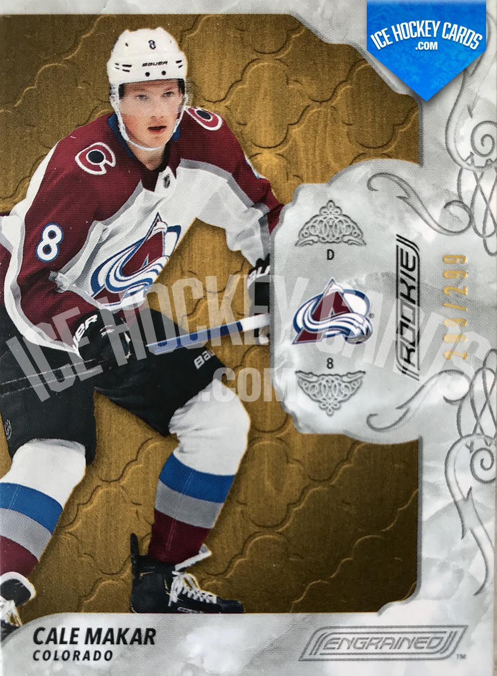 Upper Deck - Engrained 2019-20 - Cale Makar Base Rookie Card