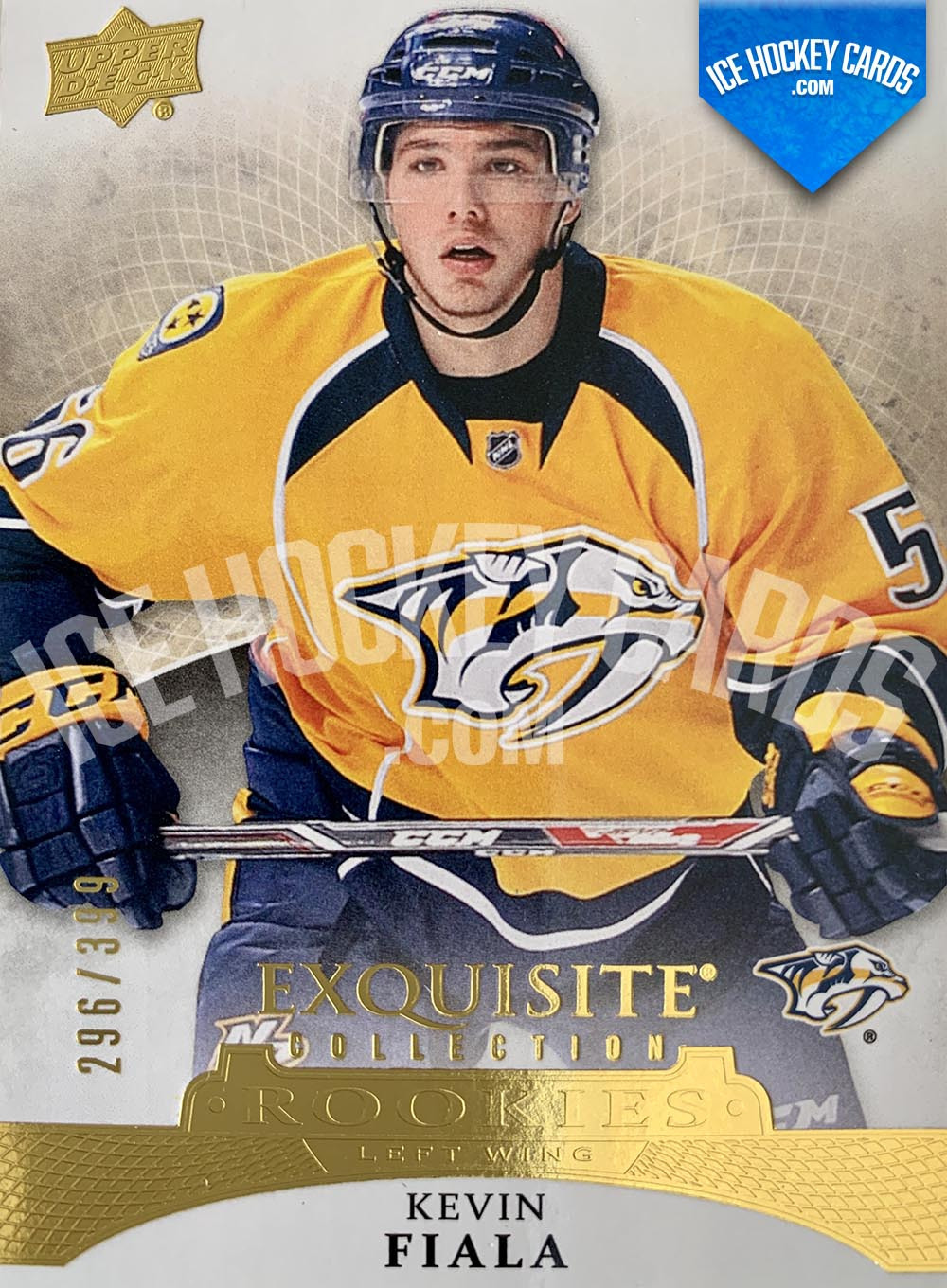Upper-Deck-Exquisite-Collection-2015-16-Kevin-Fiala-Exquisite-Collection-Rookies-Card