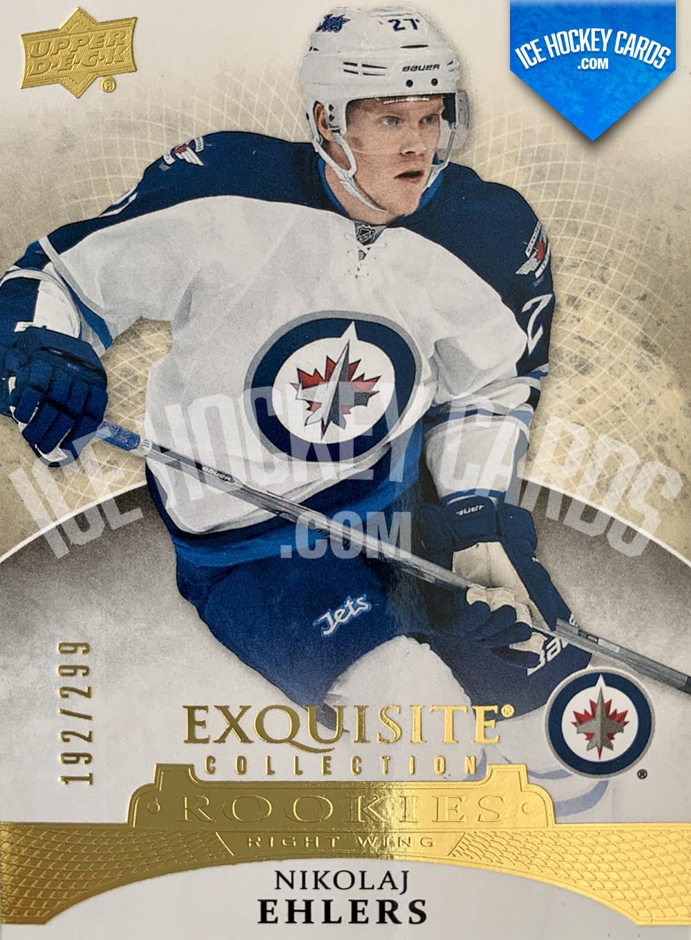 Upper Deck - Exquisite Collection 2015-16 - Nikolaj Ehlers Exquisite Collection Rookies Card