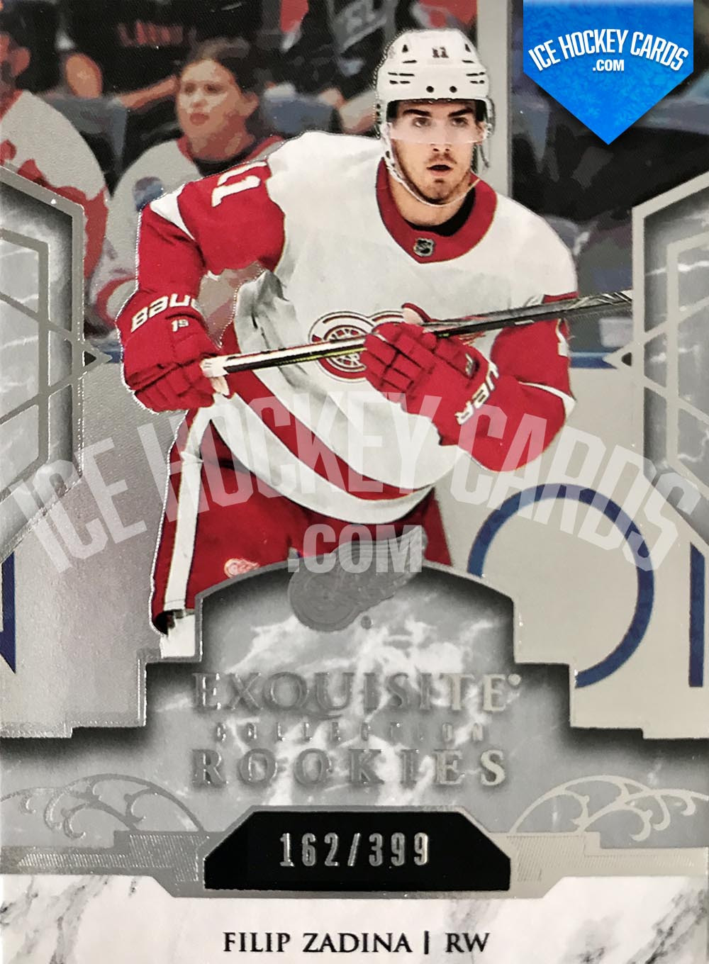 Upper Deck - Exquisite Collection 2019-20 - Filip Zadina Exquisite Platinum Rookies Card