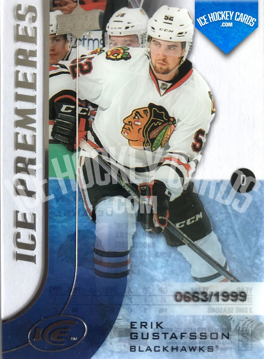 Upper Deck - ICE 15-16 - Erik Gustafsson ICE Premieres RC