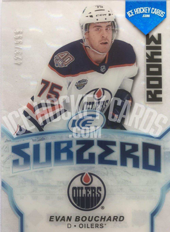 Upper Deck - ICE 18-19 - Evan Bouchard Subzero Rookie Card