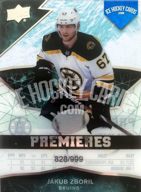 Upper Deck - ICE 18-19 - Jakub Zboril Premieres Rookie Card
