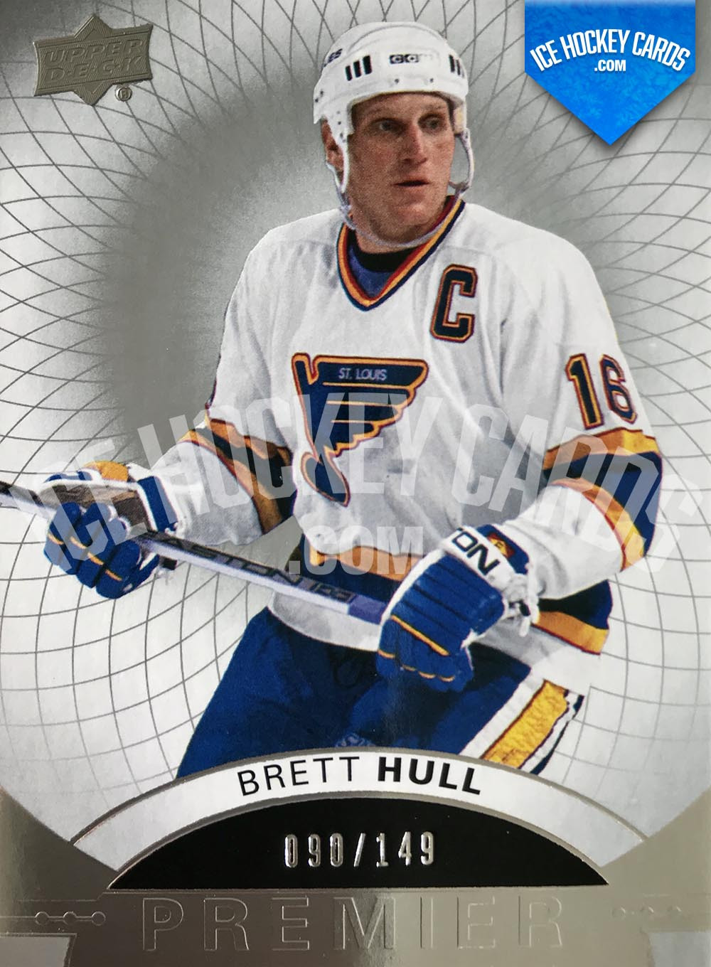 Upper Deck - Premier Hockey 2017-18 - Brett Hull Premier Legend Base Card
