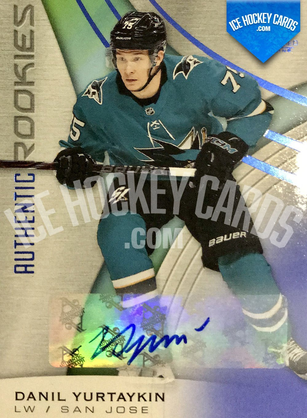 Upper Deck - SP Game Used 2019-20 - Danil Yurtaykin Authentic Rookies Auto RC