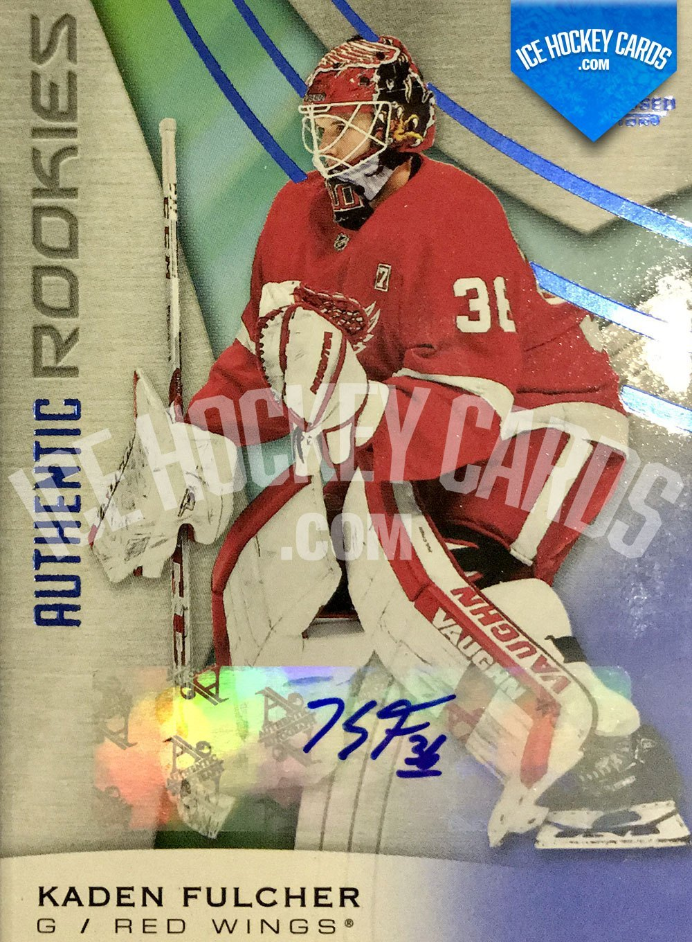 Upper Deck - SP Game Used 2019-20 - Kaden Fulcher Authentic Rookies Auto RC