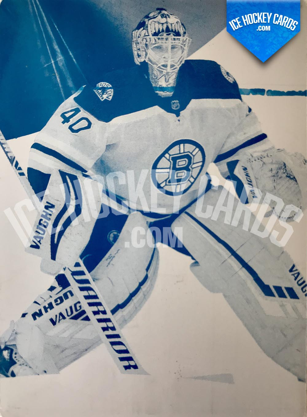 Upper Deck - SP Game Used 2019-20 - Tuukka Rask Authentic One-of-One Printing Plate UNIQUE