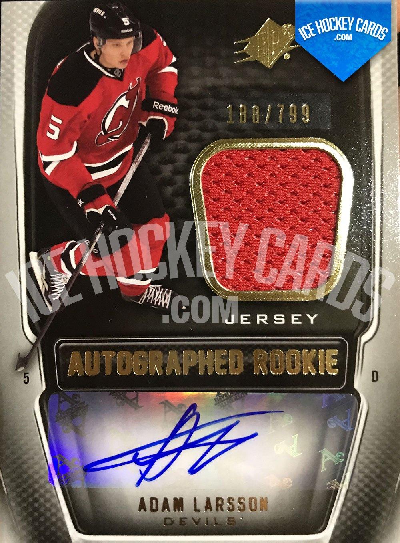 Upper Deck - SPx 11-12 - Adam Larsson Autographed Rookie RC