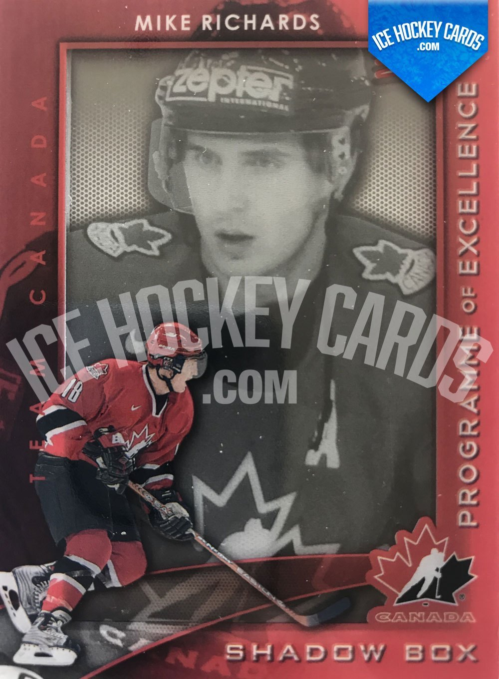 Upper Deck - SPx 11-12 - Mike Richards Shadow Box Team Canada Programme of Excellence