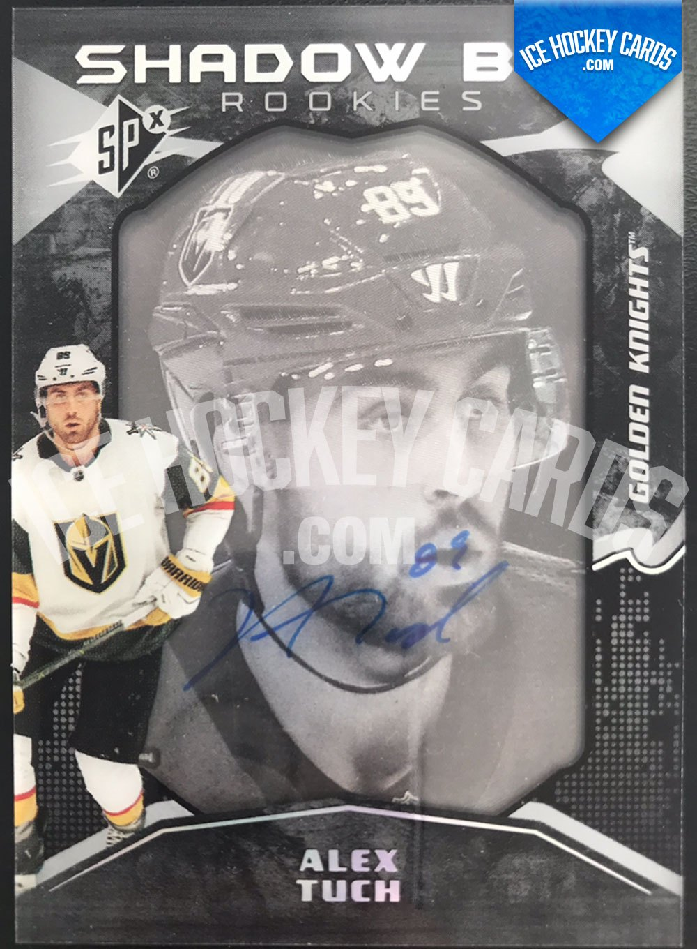 Upper Deck - SPx 17-18 - Alex Tuch Shadow Box Rookies Auto RC