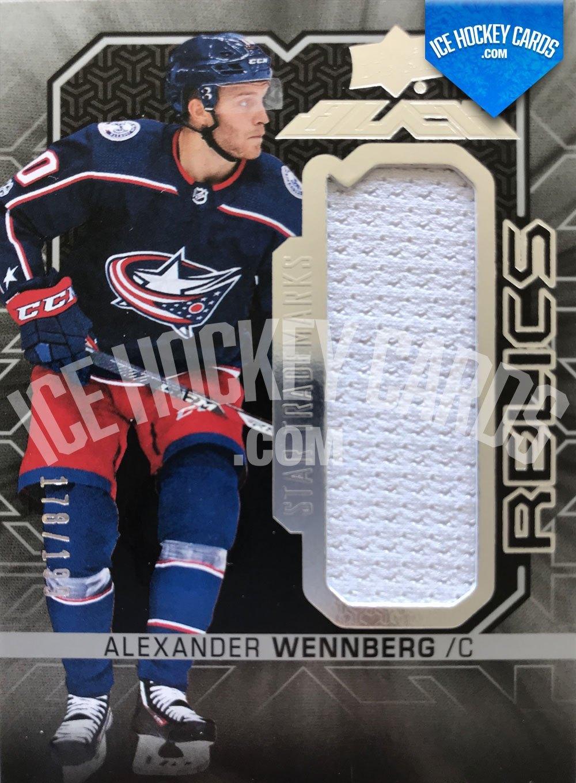 Upper Deck - SPx 17-18 - Alexander Wennberg UD Black Star Trademarks Relics