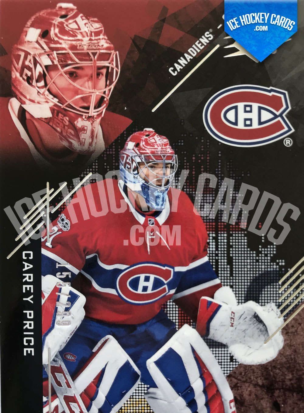 Upper Deck - SPx 17-18 - Carey Price Base Card