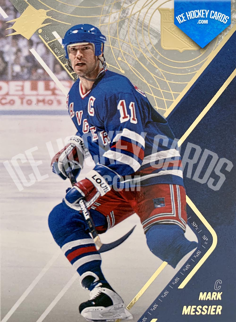 Upper Deck - SPx 2015-16 - Mark Messier Base Card
