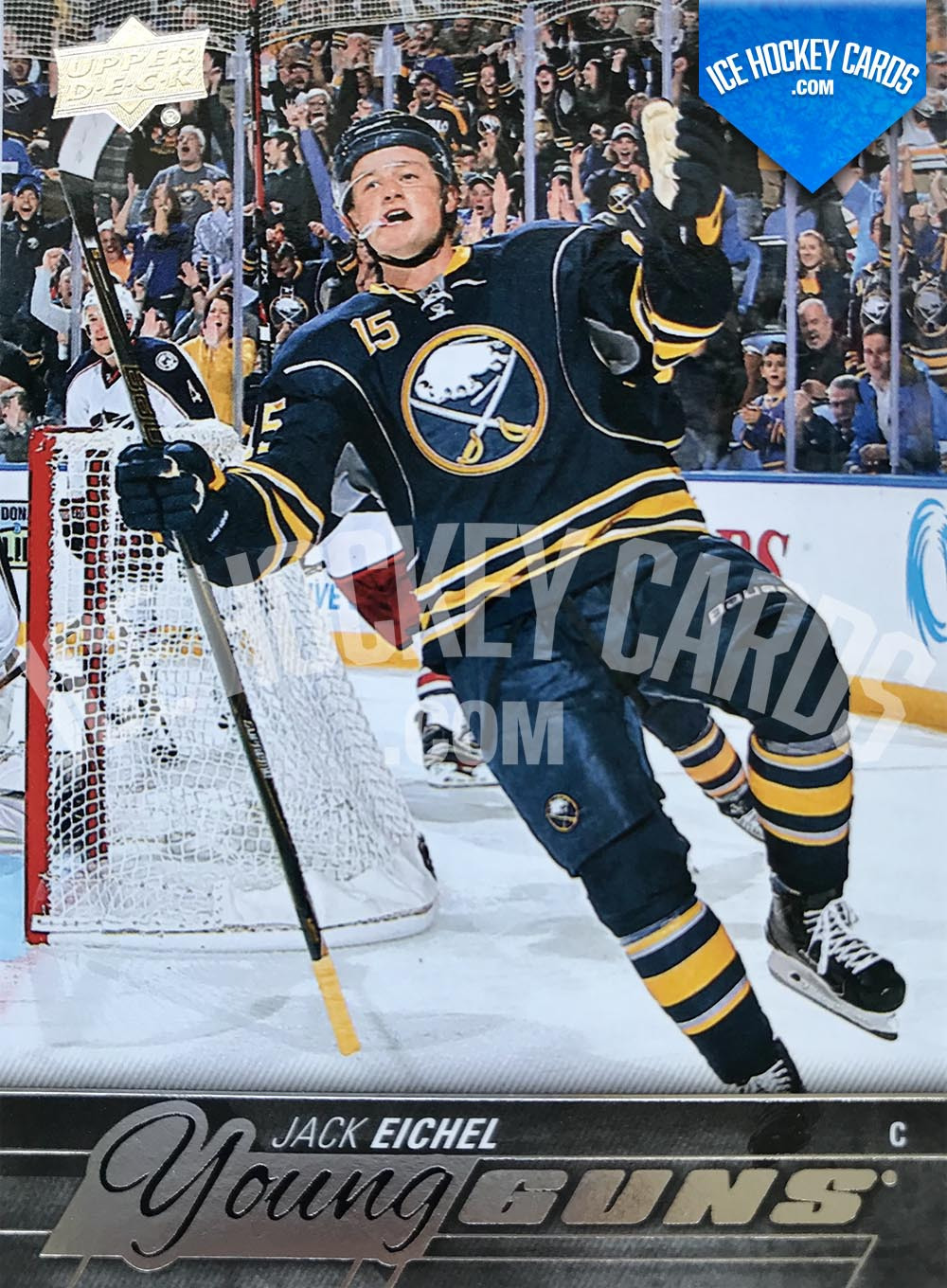 Upper Deck - Series 2015-16 - Jack Eichel Young Guns Rookie Card