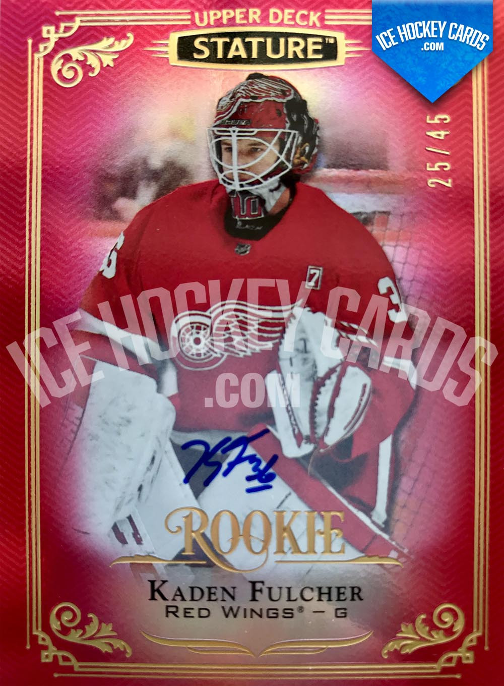 Upper Deck - Stature 2019-20 - Kaden Fulcher Autographed Rookie Card # to 45