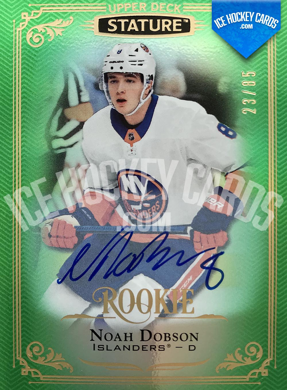 Upper Deck - Stature 2019-20 - Noah Dobson Autographed Rookie Card # to 85