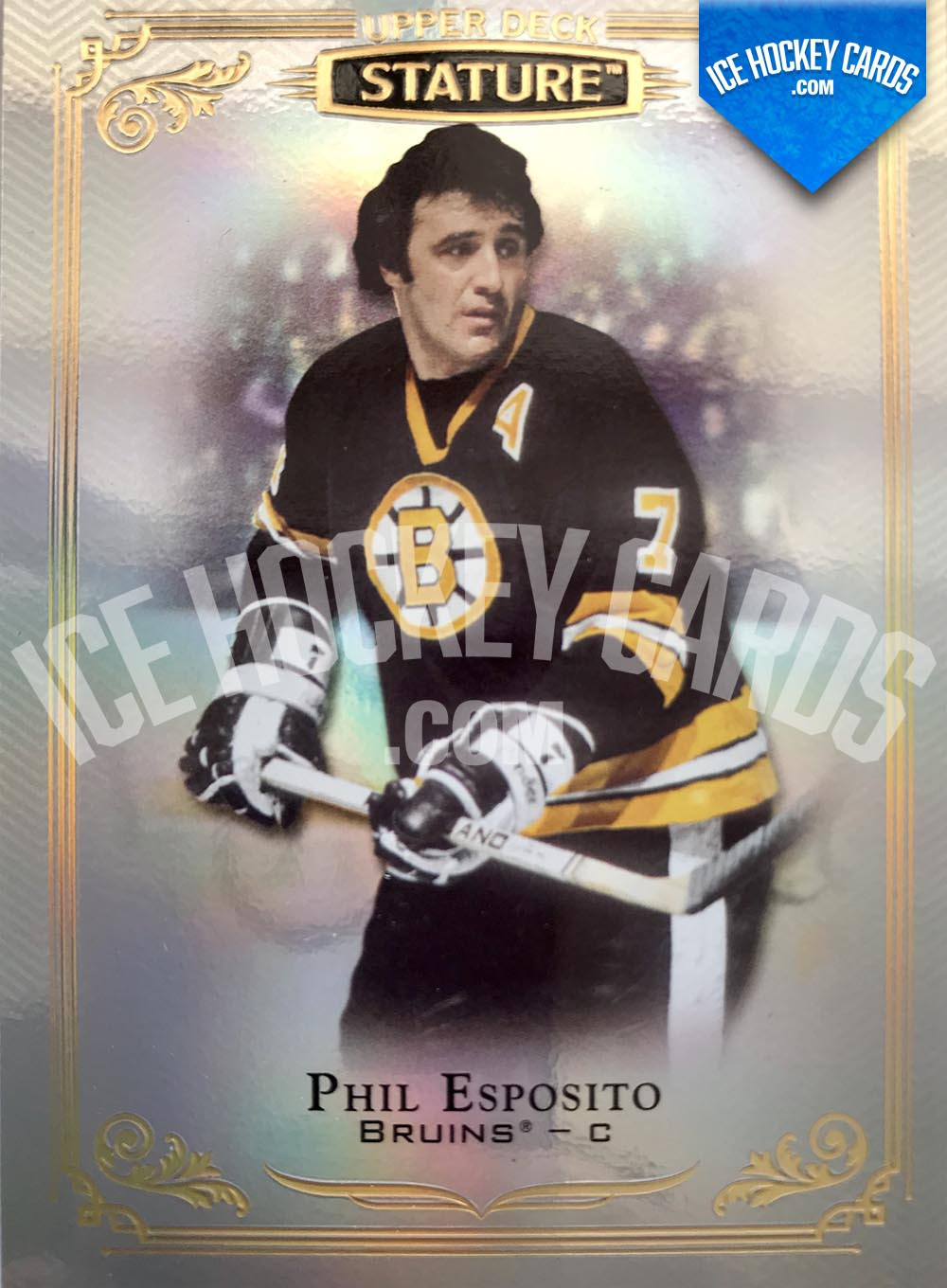 Upper Deck - Stature 2019-20 - Phil Esposito Base Card