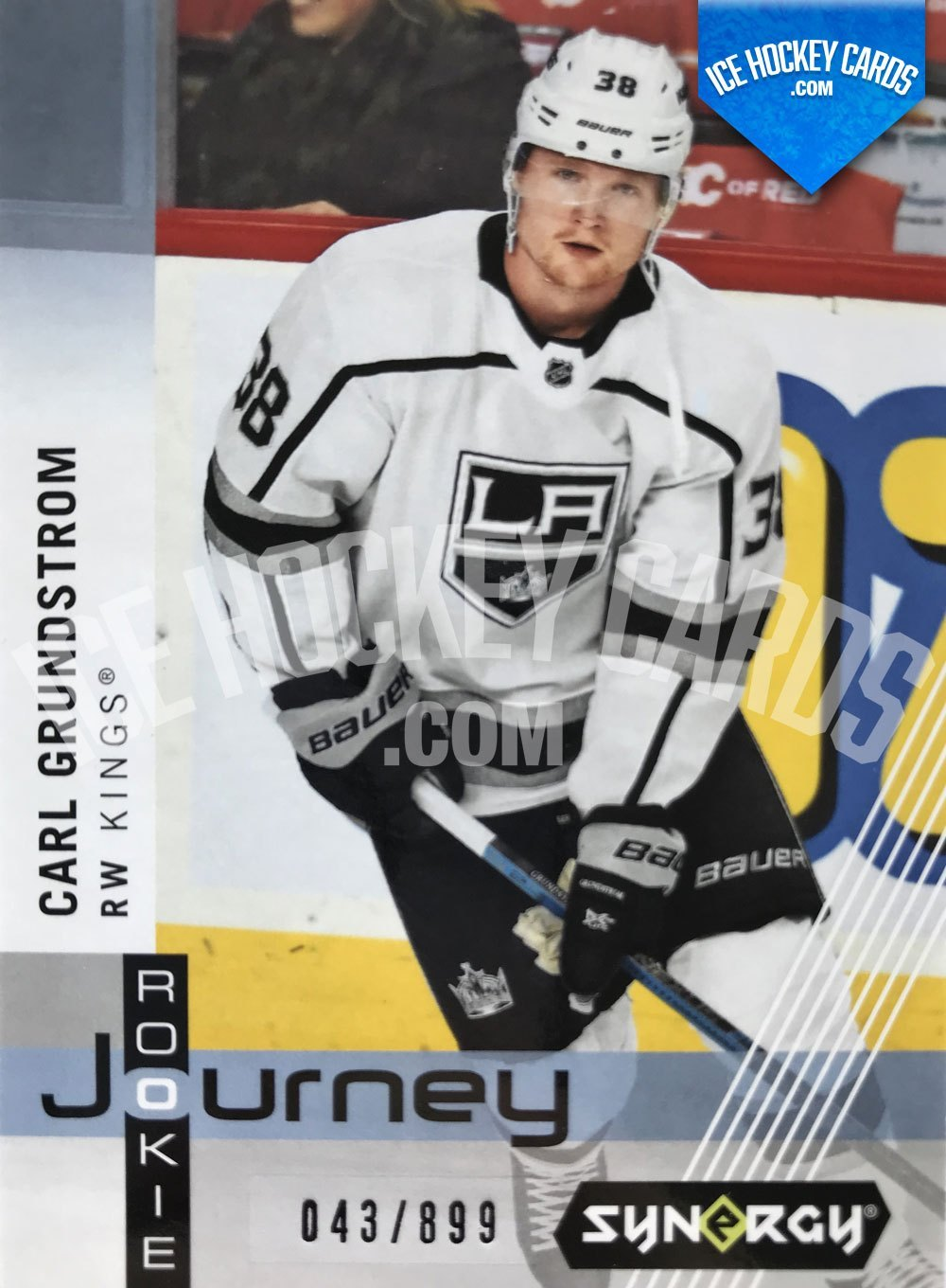 Upper Deck - Synergy-19-20 - Carl Grundstrom Rookie Journey