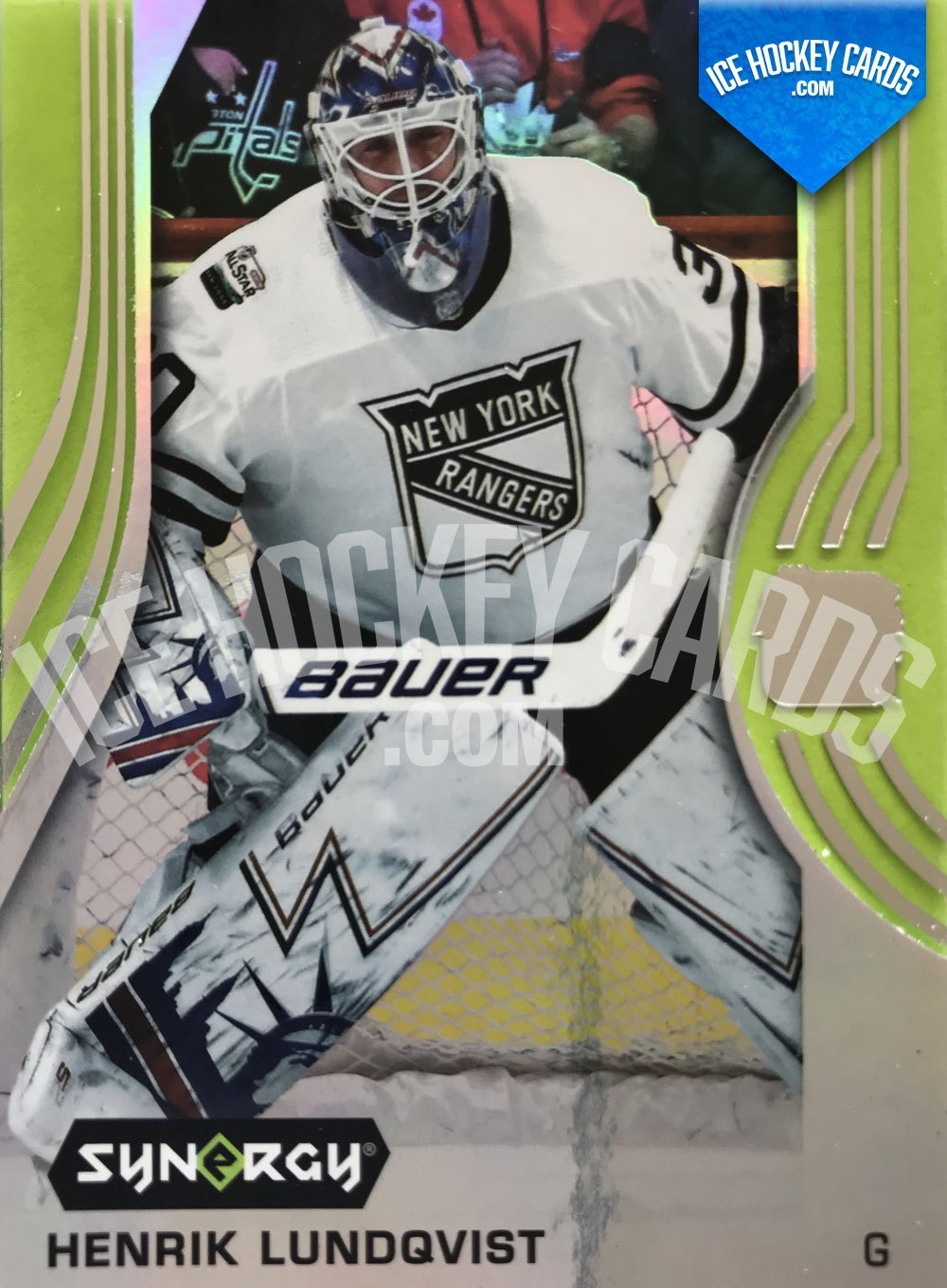 Upper Deck - Synergy 19-20 - Henrik Lundqvist All Star Game 2019