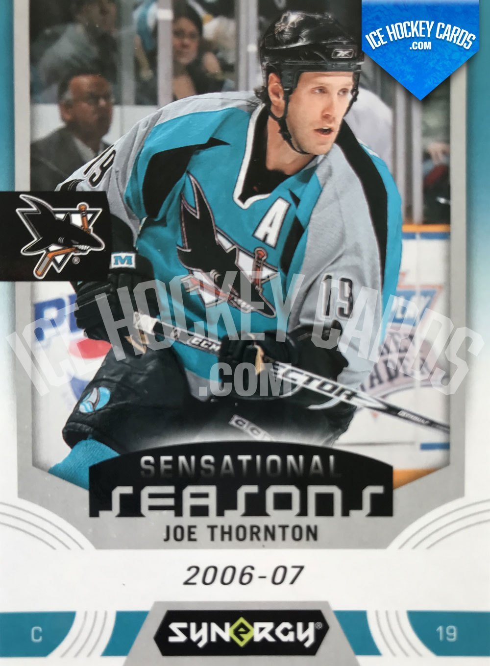 Upper Deck - Synergy 19-20 - Joe Thornton Sensational Seasons 2006-07