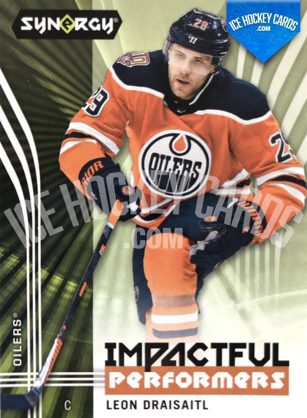 Upper Deck - Synergy 19-20 - Leon Draisaitl Impactful Performers